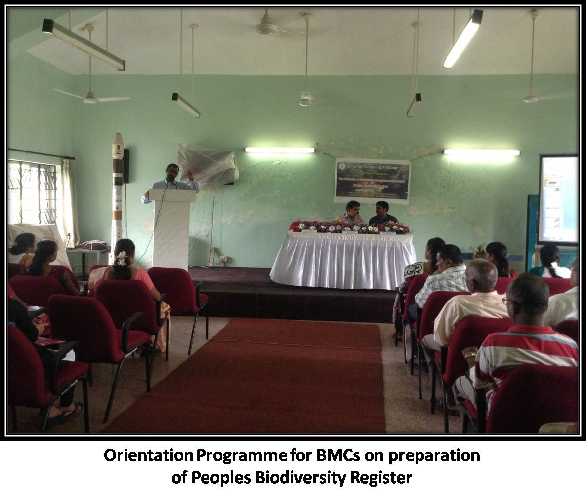 Orientation Programme for BMCs on preparation of Peoples Biodiversity Register