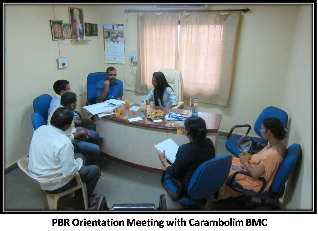 PBR Orientation Meeting with Carambolim BMC