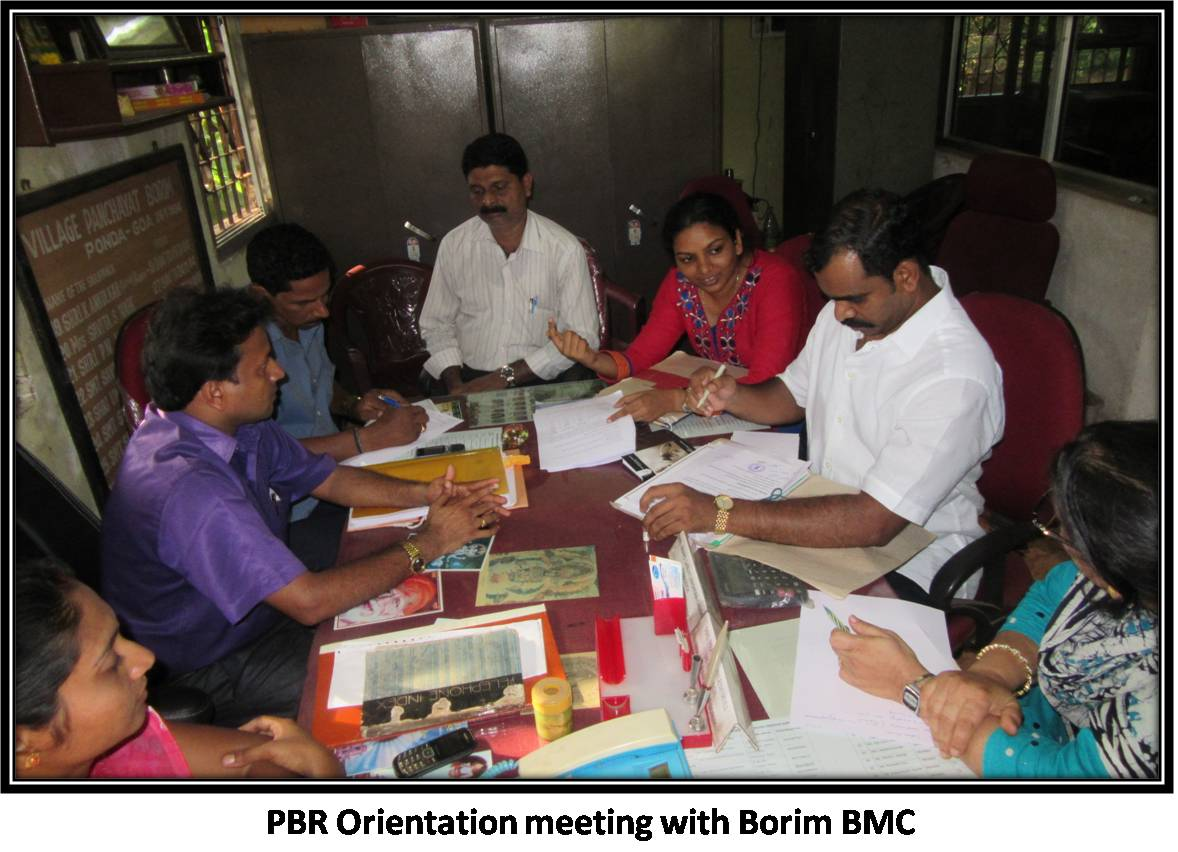 PBR Orientation meeting with Borim BMC
