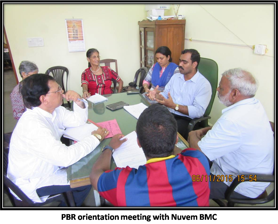 PBR orientation meeting with Nuvem BMC