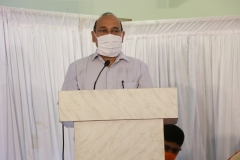 Shri Subhash Chandra, IFS, PCCF, Government of Goa, addressing the gathering during program