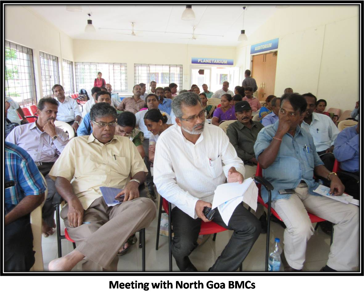 Meeting with North Goa BMCs
