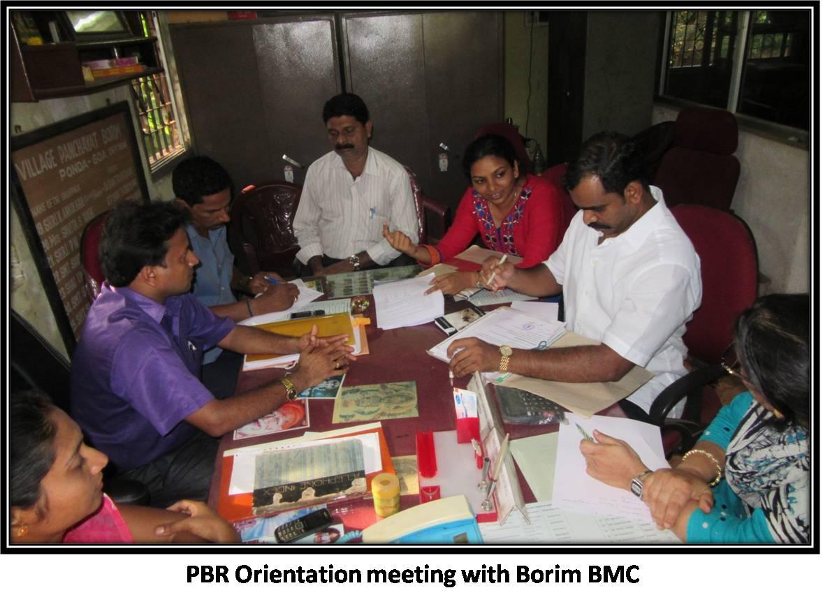 PBR Orientation meeting with Borim BMC