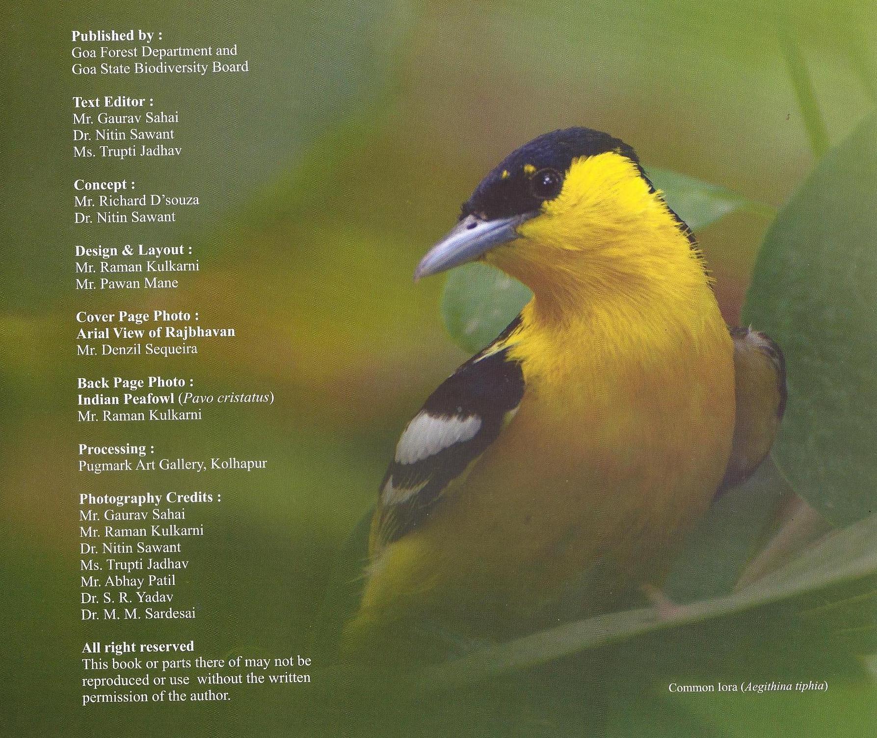 Rajbhavan book credits